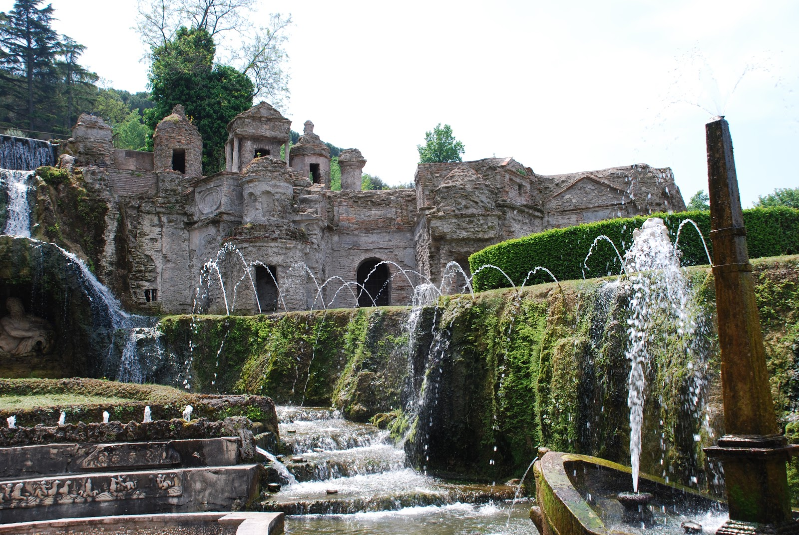 ROME OPENING TIMES FOR VILLA DESTE The Garden of Eaden