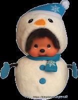 Monchhichi Snowman 288045