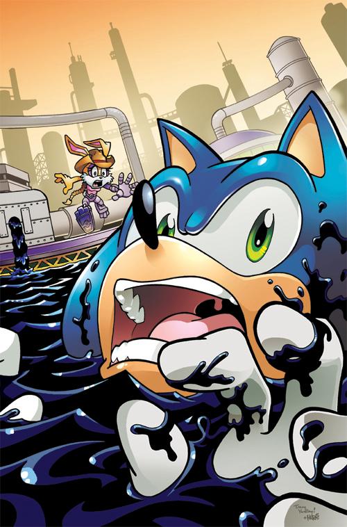 matt herms comic art and illustration sonic the hedgehog cover