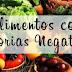 Controle Alimentar: Conheça 30 alimentos com calorias negativas