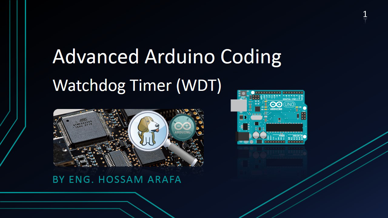 Advanced arduino coding wdt watchdog timer