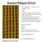 Basket Ribbed Knitting Stitch