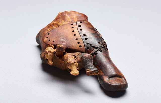 A wooden toe: Swiss Egyptologists study 3000 year old prosthesis