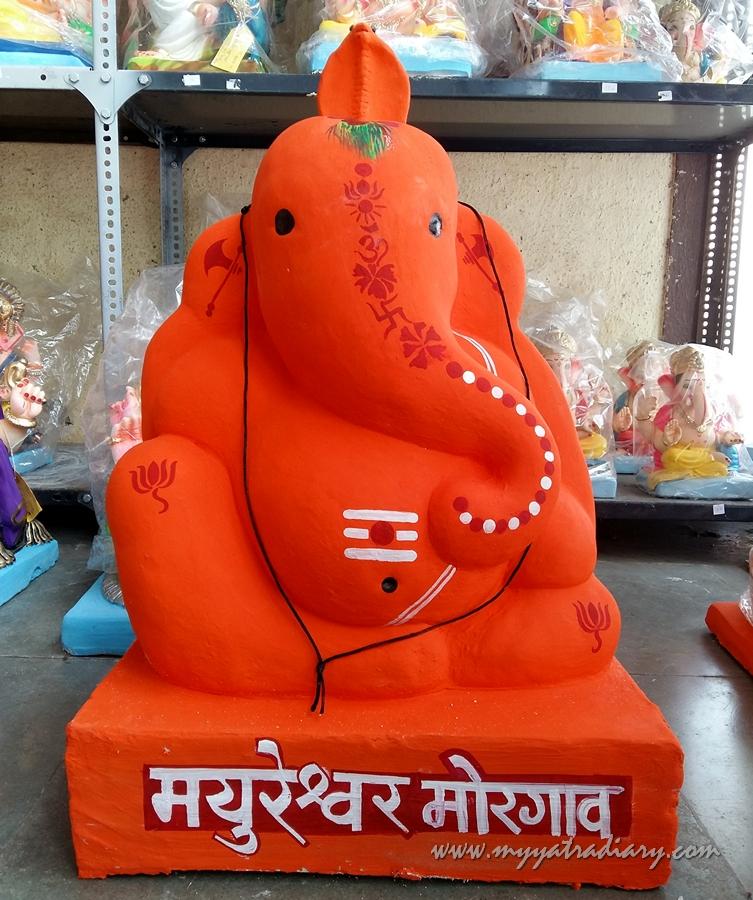 Mayureshwar Moregaon Ganesha, Ganesh Chaturthi, Mumbai