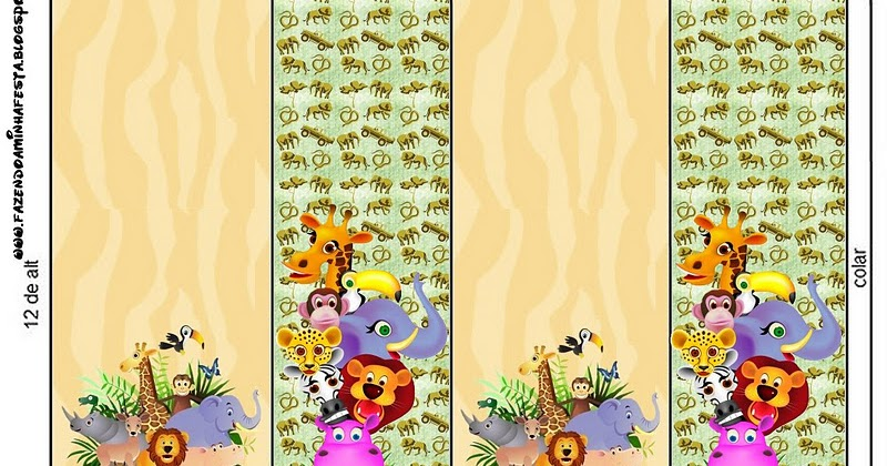 Baby Jungle Free Printable Candy Bar Labels Oh My Baby