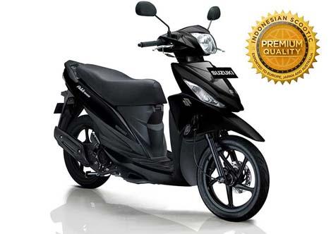 Harga Suzuki Address Black Predator dan Spesifikasi Lengkap
