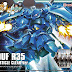 HGBF 1/144 Gouf R35  (Plavsky Particle Clear Ver) GunPla x Back-on Cerulean / Silent Trigger (CD + Plastic Model)