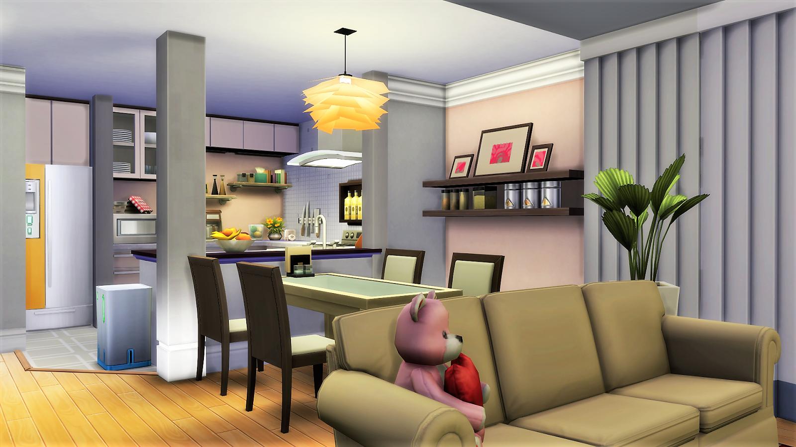 sim house design workshop: Sims 4 Japanese Kawaii ...