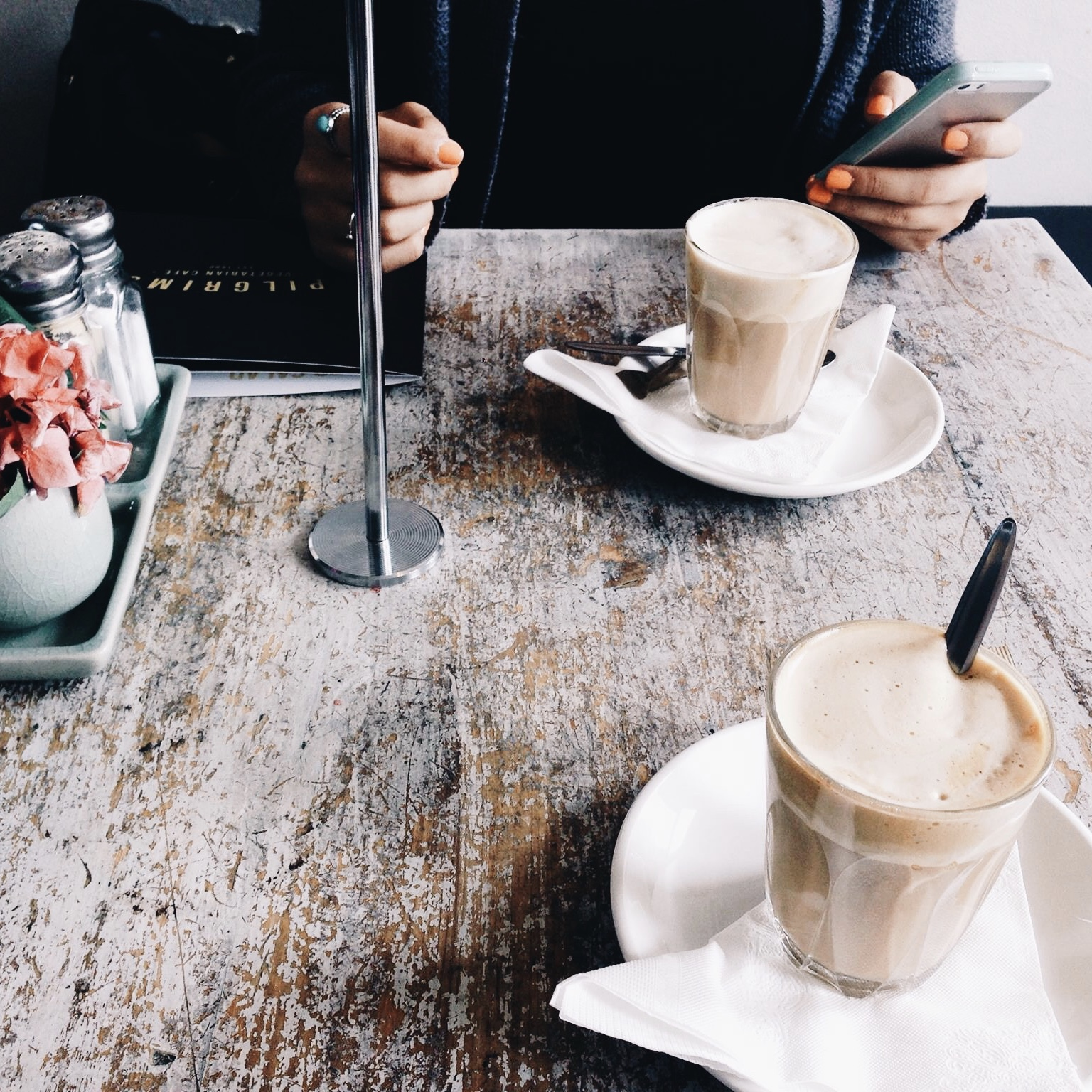 How to smash your way through a coffee meeting, and why it's never ~just~ grabbing coffee.
