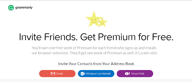 Grammarly Premium For Free Using Referral