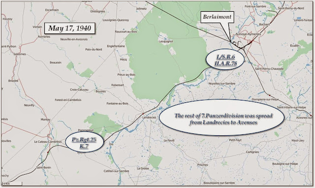 7th Panzer-Division on May 17
