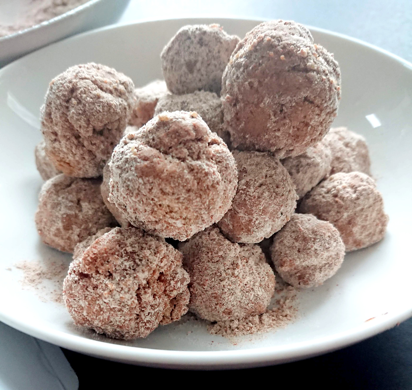 Gluten Free, Dairy Free & Egg Free Baked Churro Balls with Soulbee Honey