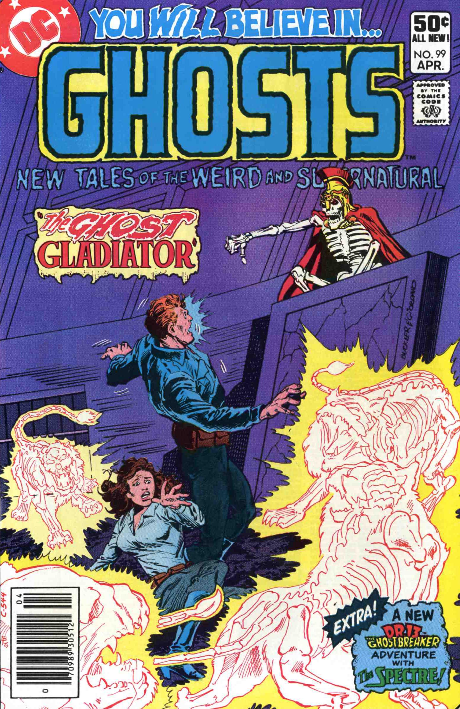 Read online Ghosts comic -  Issue #99 - 1