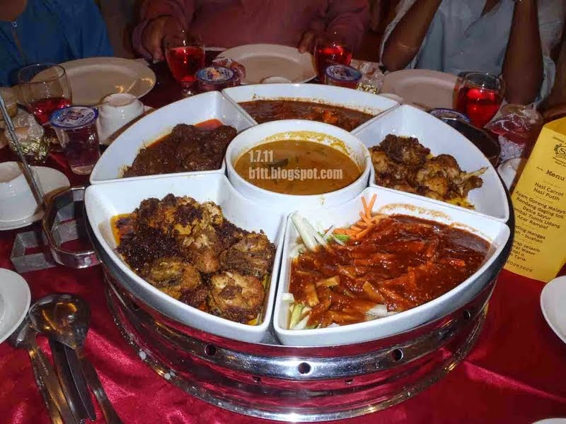 malay wedding food