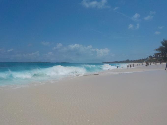 Karibian risteily, Bahama Nassau / Paradise Islandin Cabbage Beach