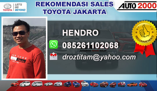 Toyota PIK Pantai Indah Kapuk Jakarta Utara