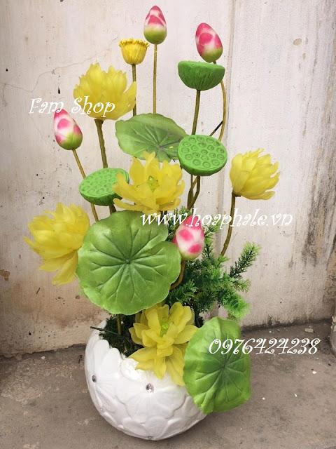 Hoa da pha le o Bui Thi Xuan