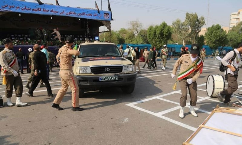 Iran: 25 killed in attack on military parade, wounded 54 people