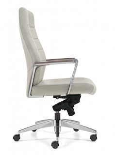 Luray Office Chair - Side View