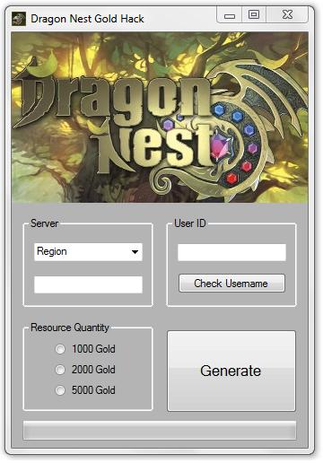 dragon nest gold hack generator goodgame