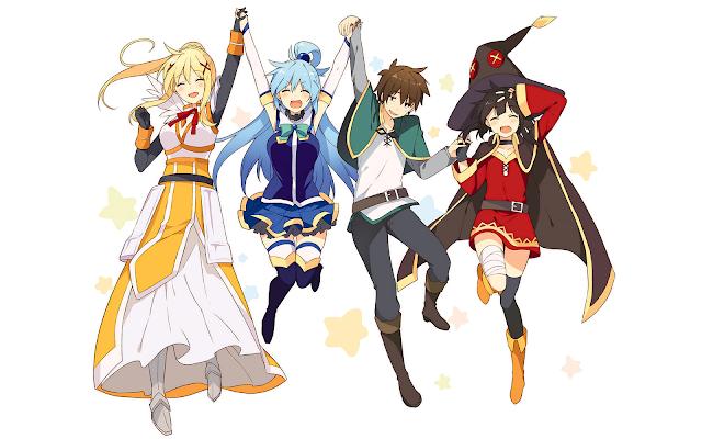 Download OST Opening Ending Anime Kono Subarashii Sekai ni Shukufuku wo! 2 Full Version