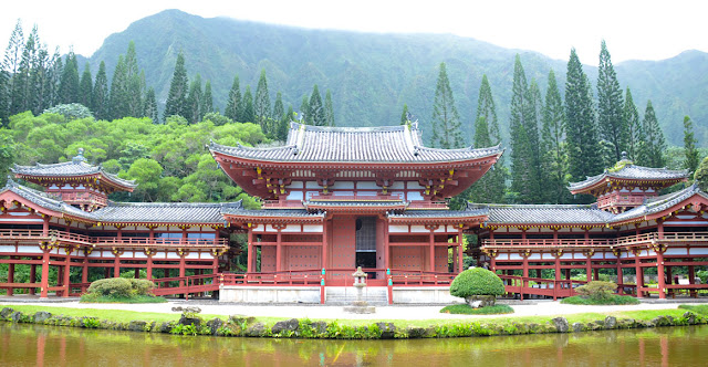 Byodo-In Temple, Valley of the Temple, O'ahu, Hawaii