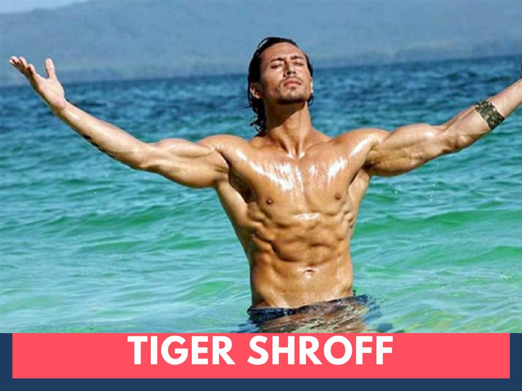 Tiger Shroff Body Building Images Tiger Shroff In Baaghi 2 Top 5