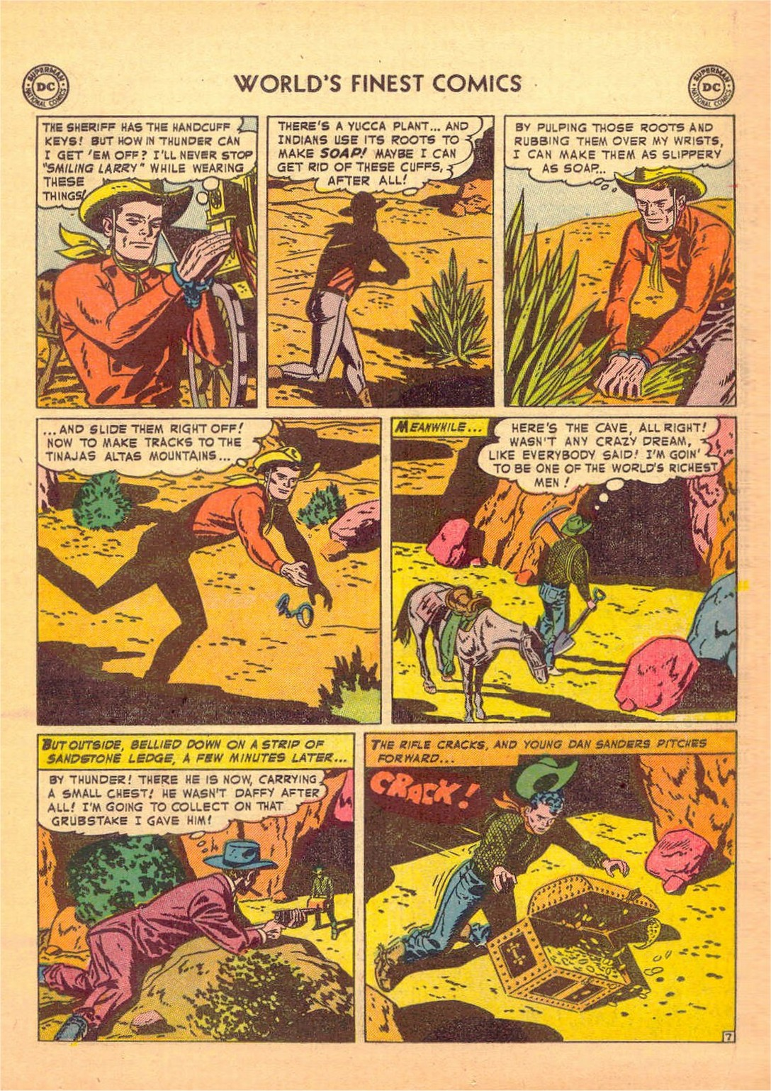 Read online World's Finest Comics comic -  Issue #58 - 35