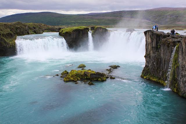 Godafoss, la cascada de los dioses