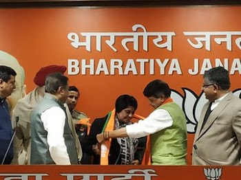 Meanwhile, former IPS officer Bharati Ghosh joins BJP