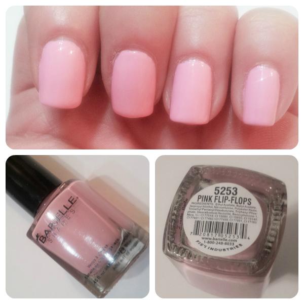 Barielle Pink Flip-Flops