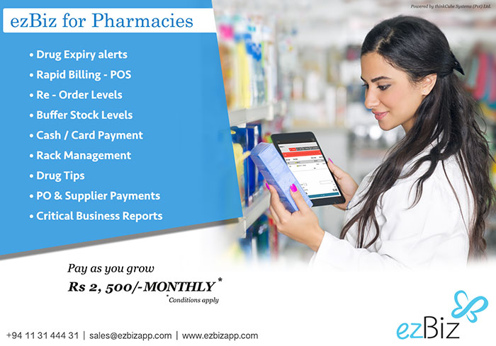 ezBiz Applications are designed specially for the Sri Lankan business owners. It takes off the hassle of time consuming number crunching activities that you have to do to check the growth and stability of your business. ezBiz allows you to use your valuable time, to grow your business; find a new lead or think of a new campaign. We will take care of additions and subtractions and reminding you when you want.  ezBiz is a cloud solution weaved by passionate engineers at thinkCube. It caters the vital business requirements of small and medium businesses, while ensuring users' accessibility to their business data anytime, anywhere. Small and medium businesses (SME) encounter a large portion of a country's economy. Variety of industries in the SME category has been observed in order to design a scrupulous solution that caters critical requirement of a business.  The inceptive application, covering precise invoicing function, was released as ezInvoice. Next set of applications are tailored to meet the growing needs of a business such as inventory, purchasing and sales. The emerging suite of applications is capable of facilitating more applications to cater the vital business functions i.e. expenses, customer relationship management.