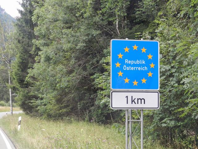Fronteira Alemanha Áustria