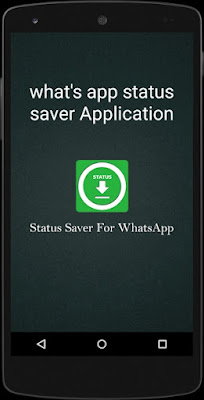 WhatsApp status saver application