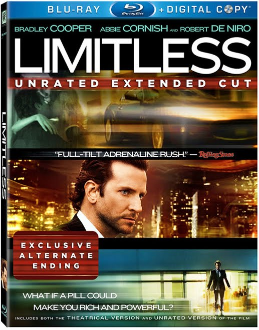 Limitless (2011) Unrated Extended Cut 1080p BluRay Remux AVC DTS-HD