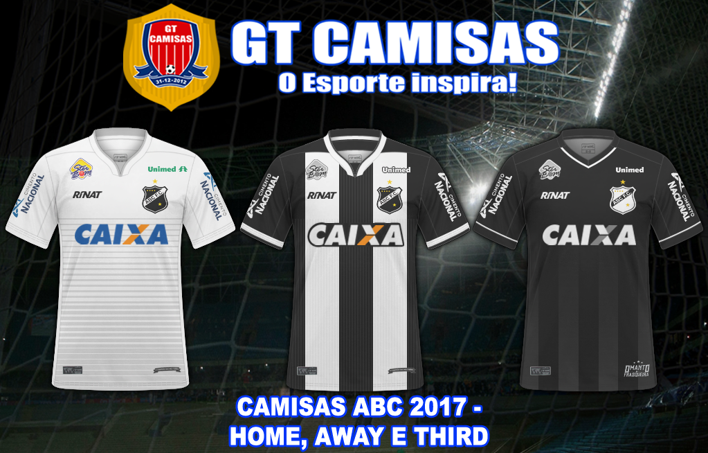 GT Camisas  Camisas Campeonato Brasileiro Série B 2017 - Todos os ... 8ed61f83d6798