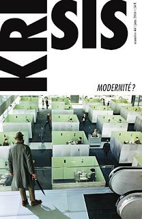 Krisis 44 Modernité Krisis Diffusion
