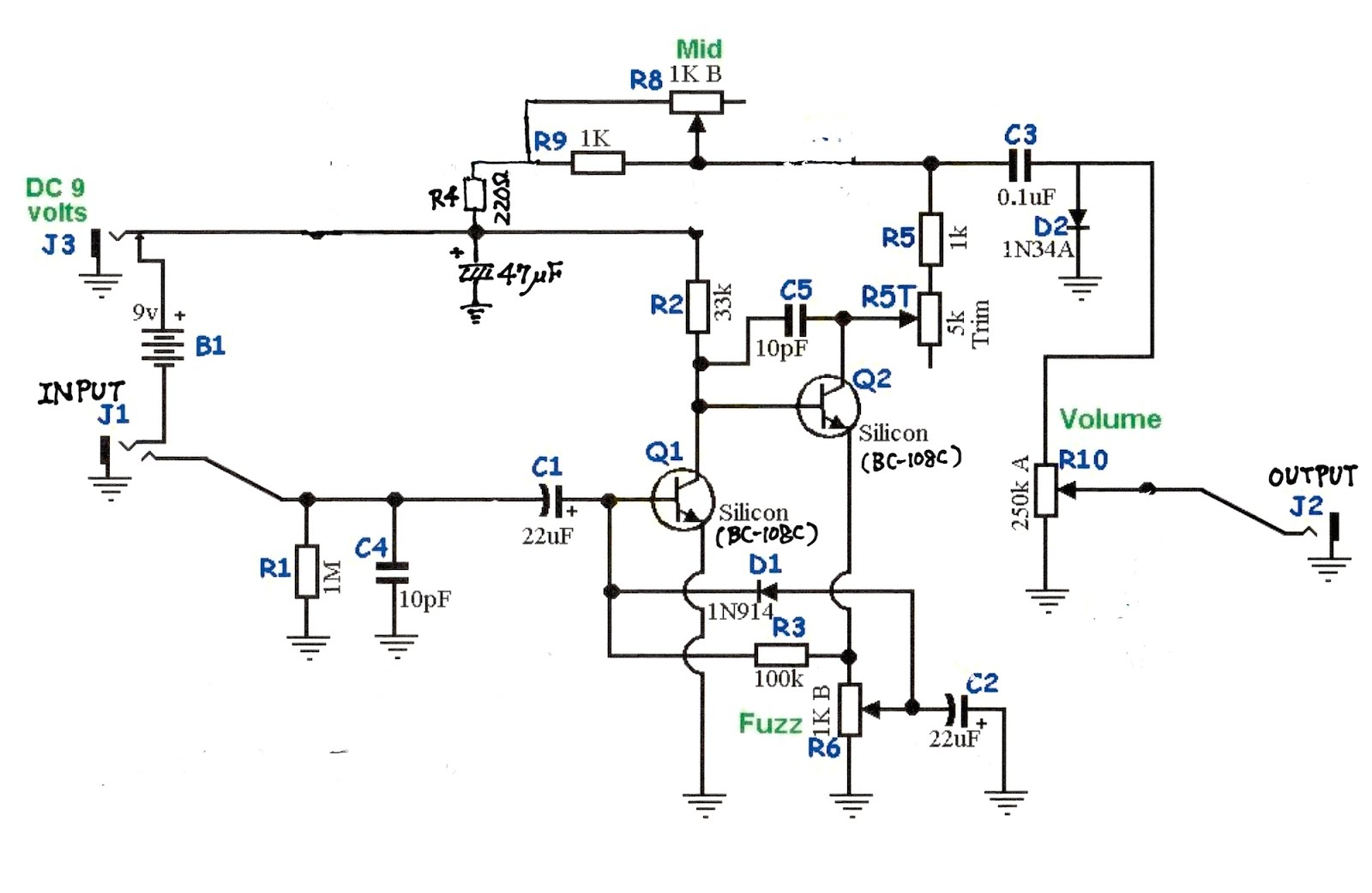 %256070_BC108C Xotic Rc Booster Schematic on brian may fryer treble, bass treble, antenna amplifier, fryer treble, maestro full range, electronic brake, for brian may treble,