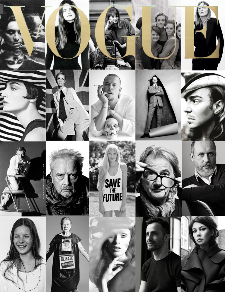 A mockup cover of Vogue via www.fashionedbylove.co.uk