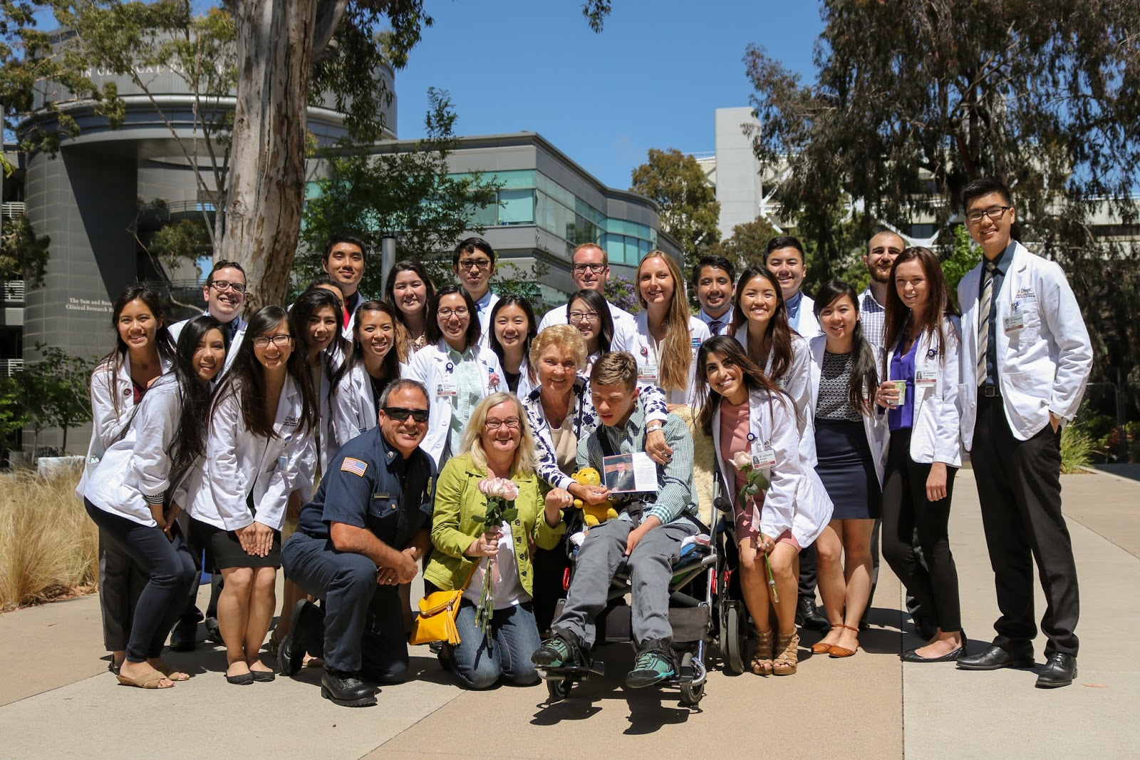 white coat ceremony_adrienne Nguyen_white coat_pharmd_doctor_body donor memorial_gross anatomy_ucsd pharmacist