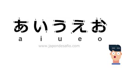 Aprender Japonés - あいうえお a i u e o