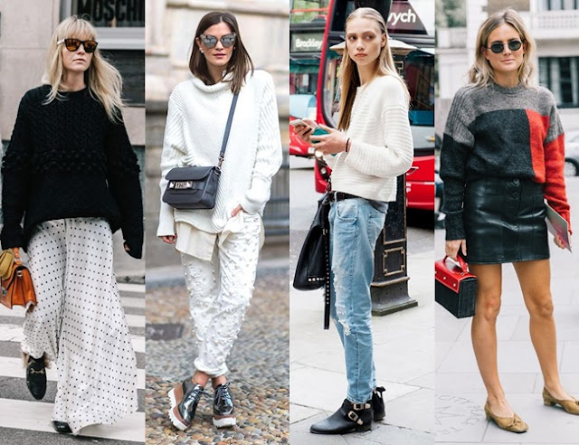 28 OUTFITS WITH SWEATERS Falling for A