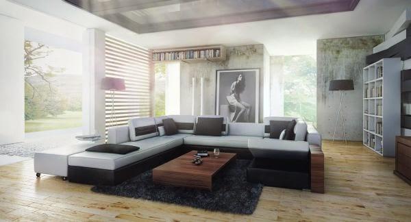 D coration salon d cor de salon for Decoration salon de the