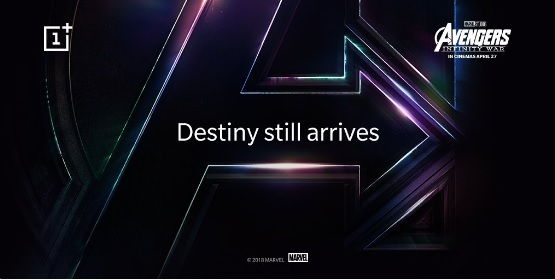Avengers-themed OnePlus 6
