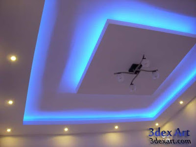 false ceiling designs for living room and hall 2019, modern ceiling designs 2019, ceiling lighting ideas, plasterboard ceiling