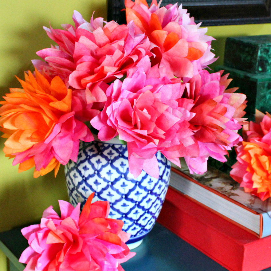 Mark Montano: Coffee Filter Flowers DIY