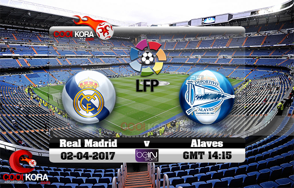 مشاهدة مباراة ريال مدريد وديبورتيفو ألافيس اليوم 2-4-2017 في الدوري الأسباني