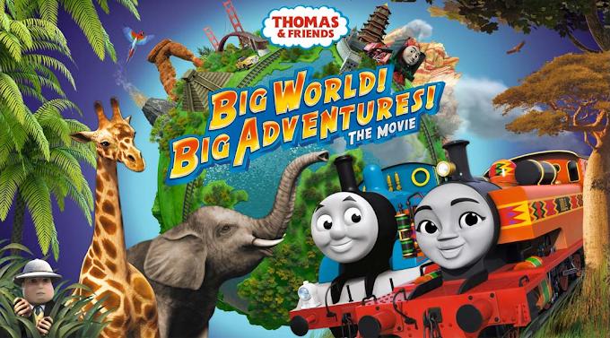 Thomas and Friends: Big World! Big Adventures! The Movie Dual Audio Hindi-Eng FHD