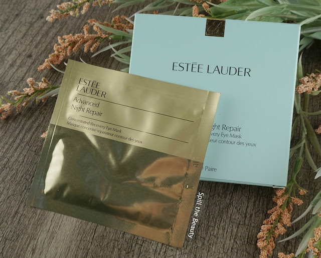 estee lauder Advanced Night Repair Recovery Mask-In-Oil concentrated recovery eye mask review