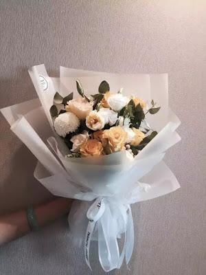 Contoh Buket Bunga